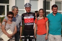 Gaining a bronze medal at National Time Trial Championships in Púchov